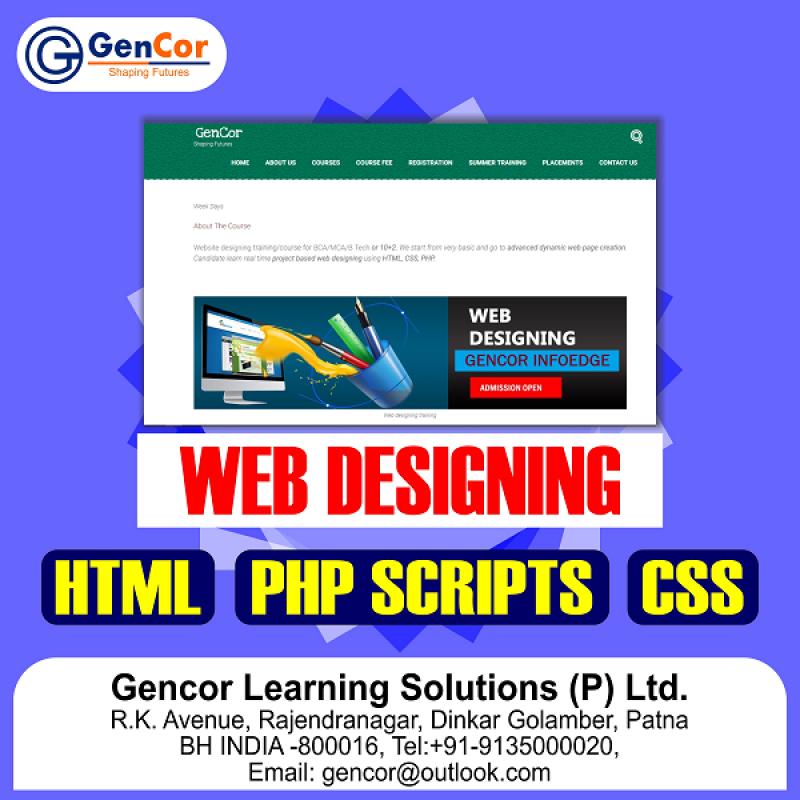 Web Designing Training