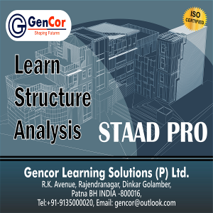 Staad Pro Structural Analysis Course