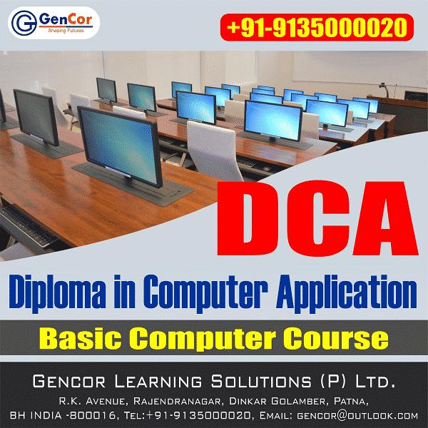 D C A/CCC Computer Course in Patna, Bihar   GenCor